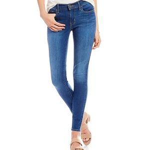 Levi's 710 super skinny jeans medium wash